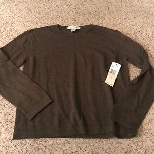 NWT Jones New York merino wool sweater size large